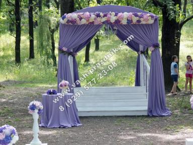 шатер для выездной регистрации брака