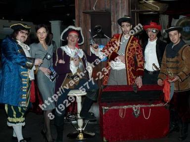 Организация детских праздников, пиратская вечеринка