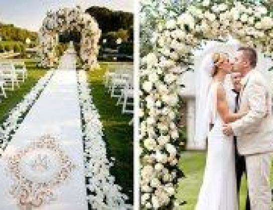 Аренда свадебного декора и текстиля