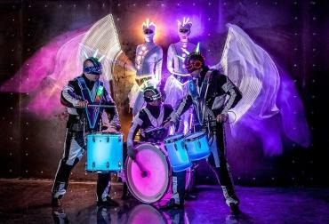Фото барабанное шоу