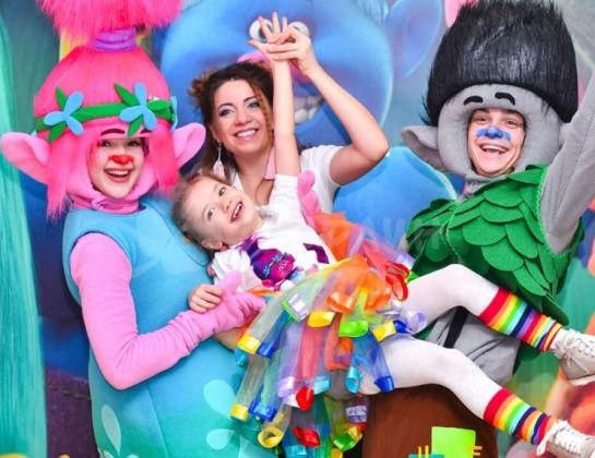 Организация детских праздников 70%